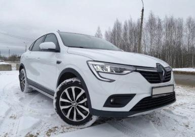 Аренда Renault Arkana в СПб